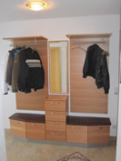 schreinerei martin ellinger garderobe. Black Bedroom Furniture Sets. Home Design Ideas